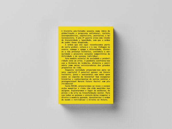 contracapa caderno MICAR 2021